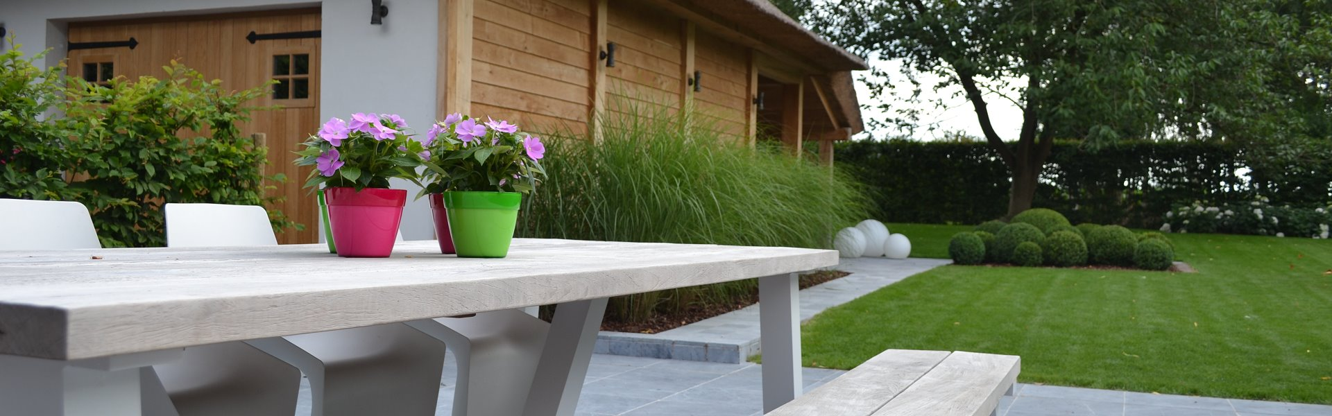 ontwerpfase tuin